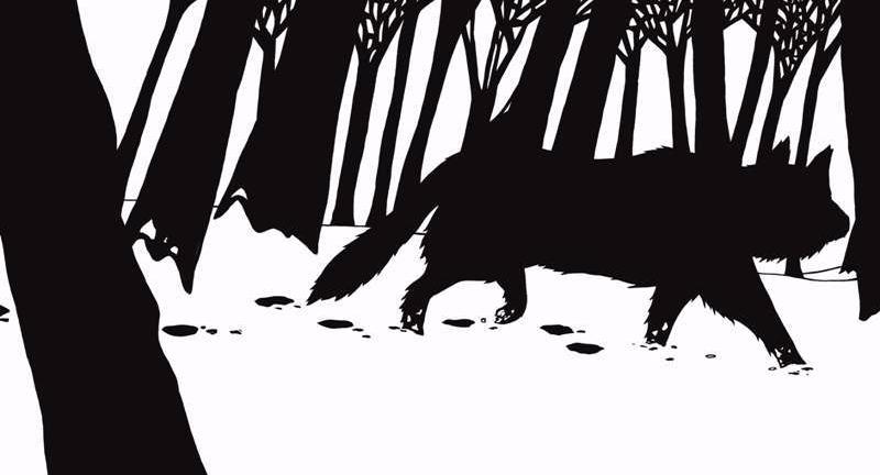 Loup noir casterman les mots d'arva