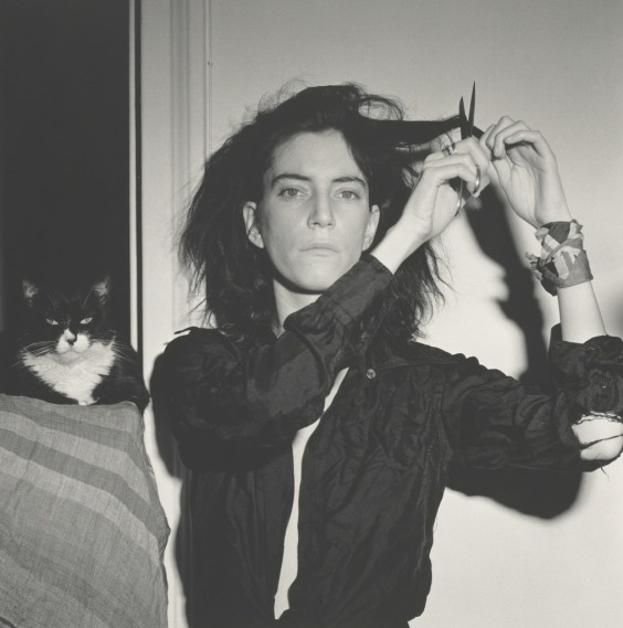 patti smith by robert mapplethorpe