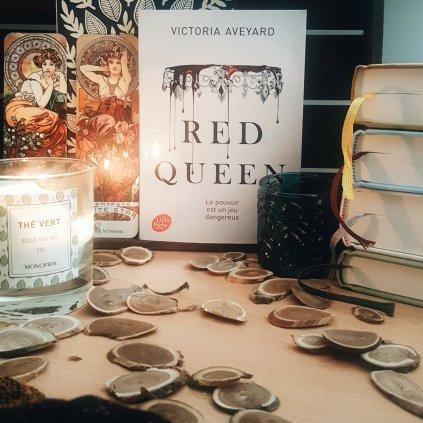 Red queen les mots d'arva