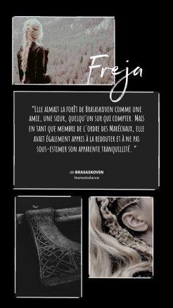 Freja- brasaskoven - les mots d'arva
